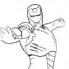 Disegno di Iron Man
