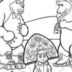 Masha, Misha e l'orsa