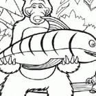 Masha e Orso pescatore