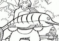 Disegni Di Masha E Orso Da Colorare Immagini Di Masha E Orso Da