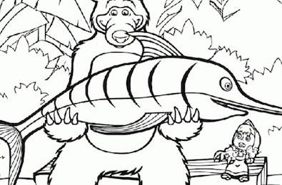Masha E Orso Pescatore Cose Per Crescere