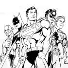Disegno di supereroi