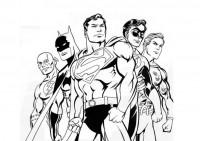 Disegno Supereroe Da Colorare