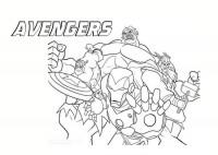 The Avengers Da Colorare Cose Per Crescere