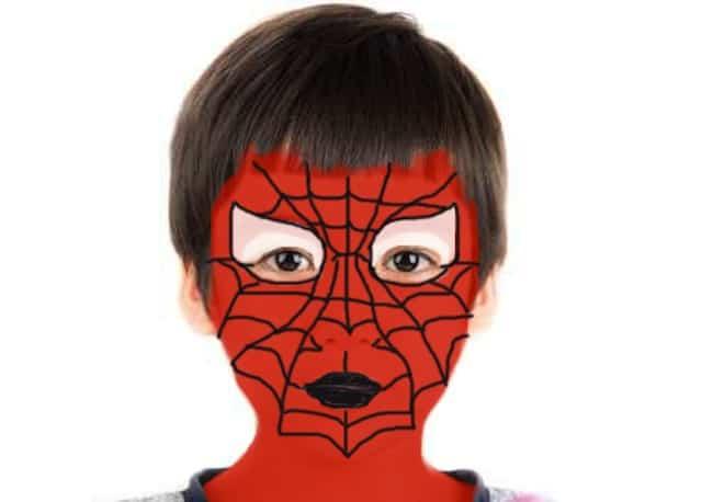Trucco spiderman