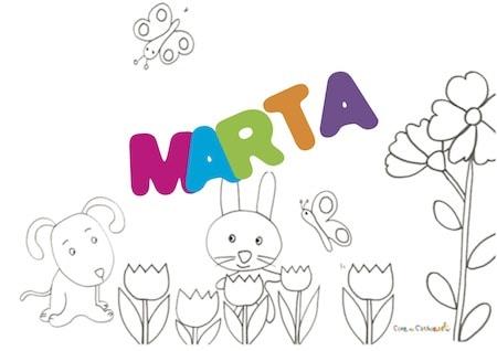 Marta significato, origine e onomastico