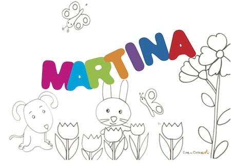 Martina significato e onomastico