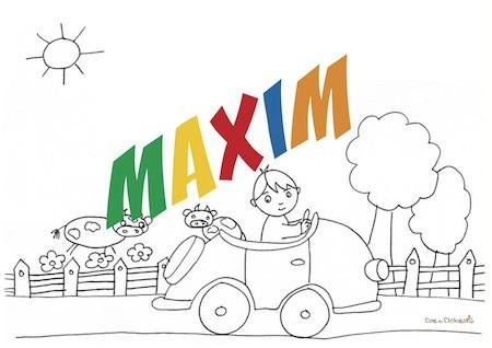 Maxim: origine, significato e onomastico