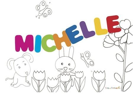 Michelle: significato e onomastico