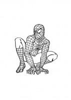 Spider Man da colorare - Uomo Ragno