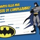 Invito al compleanno di Batman