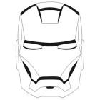 Maschera di Iron Man