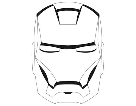 Maschera Di Iron Man Per Bambini