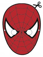 Maschera di Spiderman