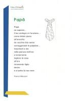 poesia per la festa del papà