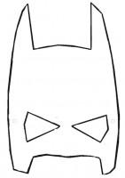 sagoma maschera batman