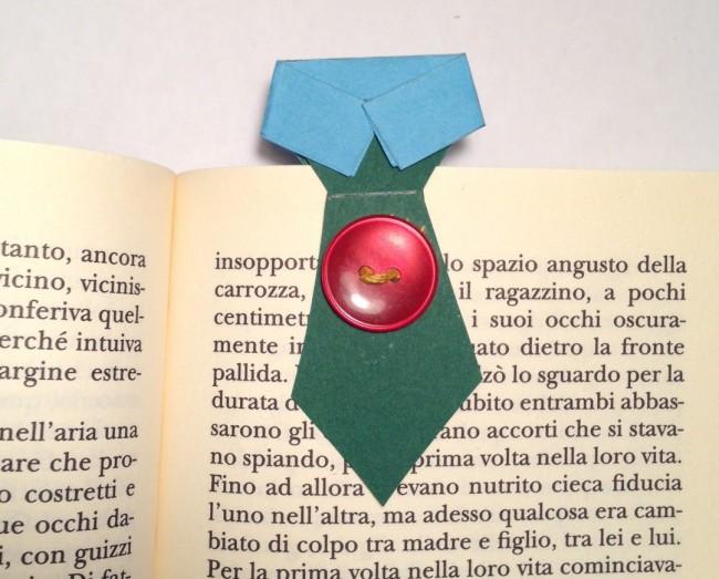Cravatta Segnalibro Lavoretto Per Bambini