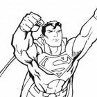 Superman supereroe da colorare