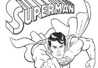 Disegni Di Superman Da Colorare Immagini Da Stampare