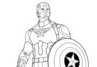 Disegni Di Supereroi Da Stampare Gratuitamente E Da Colorare Per