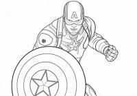 Disegni Di Capitan America Da Colorare Immagini Da Stampare Gratis
