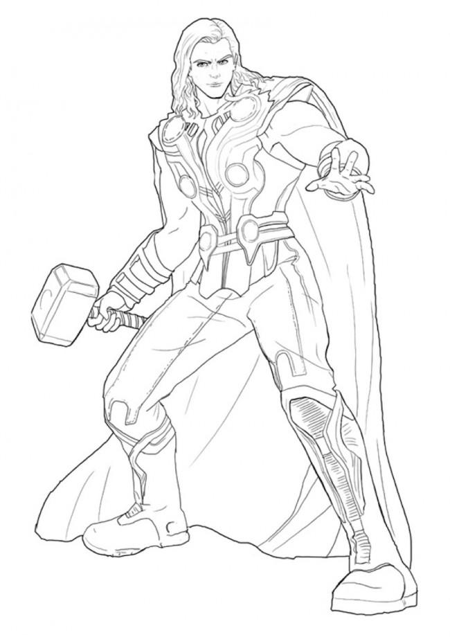 Disegno di Thor