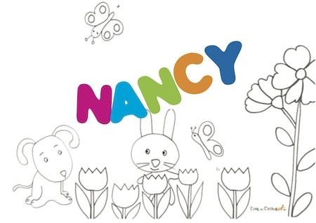 Nancy: significato e onomastico