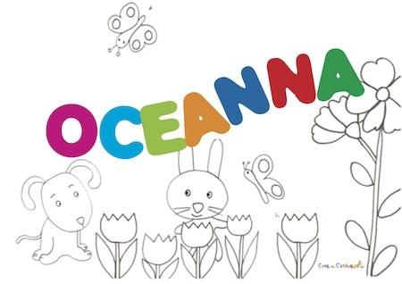 Oceanna significato e onomastico