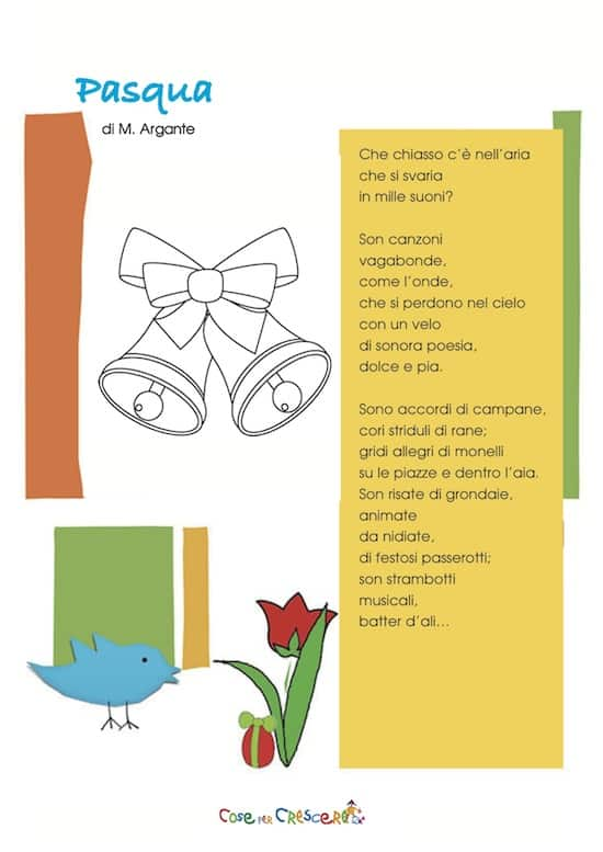 Poesia di pasqua for Poesia di pasqua per bambini
