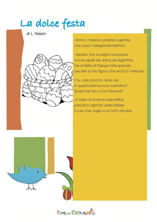 Poesia di Pasqua di Nason