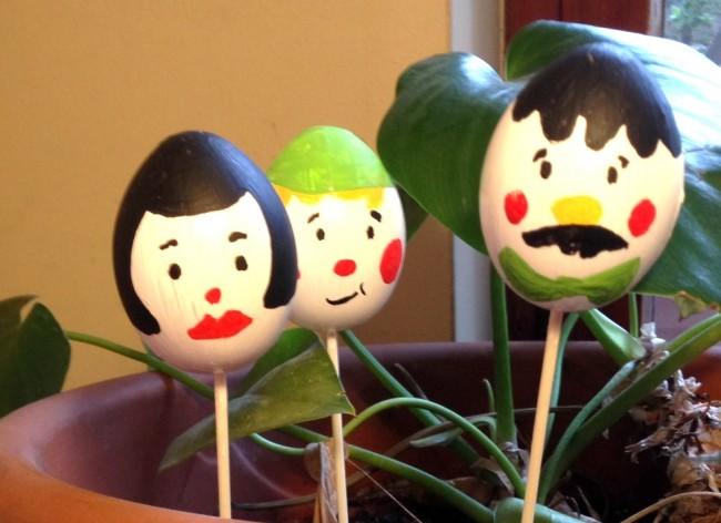 Uova di Pasqua - Lavoretto di Pasqua per bambini