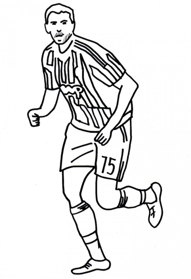 Disegni Da Colorare Calciatori Juventus Fredrotgans