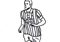 Disegni Di Squadre Di Calcio Italiane Da Colorare