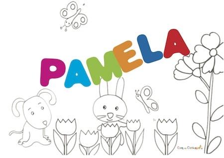 Pamela: significato e onomastico