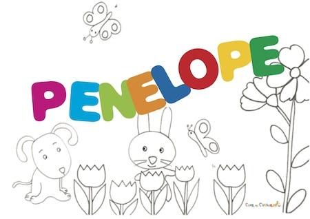 Penelope: significato e onomastico