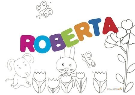 Roberta: significato e onomastico