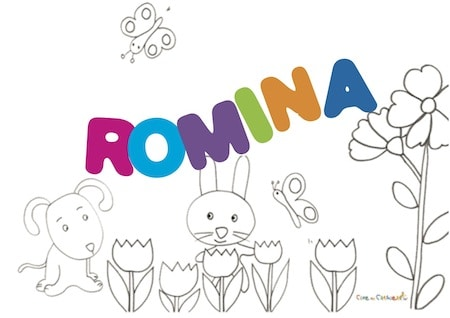 Romina: significato e onomastico
