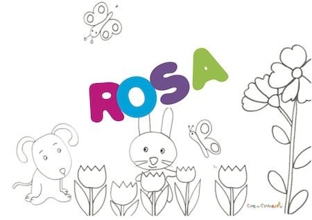 Rosa: significato e onomastico
