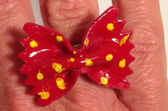 Conosciuto Anello farfalla fai da te - lavoretto Festa della mamma DT27