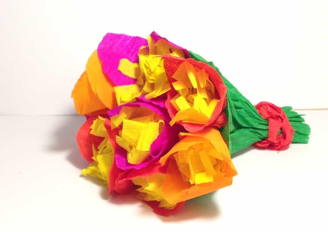 Fiori di carta cose per crescere for Costo per costruire un mazzo coperto