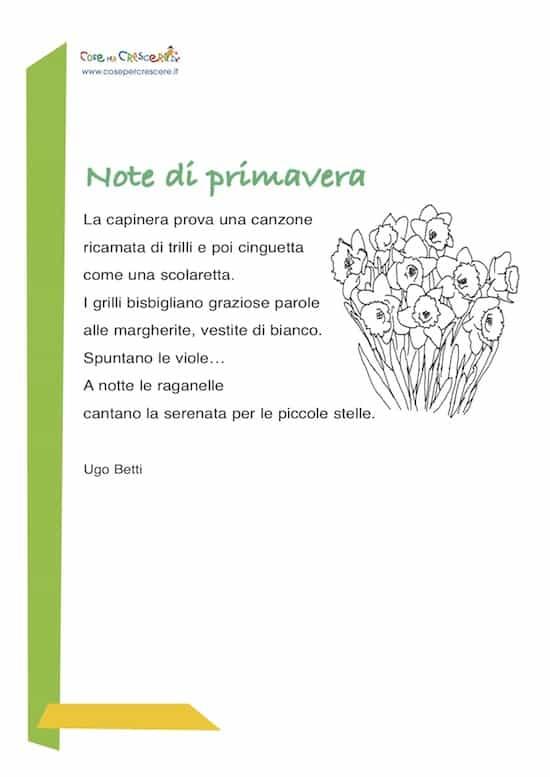 poesia di promavera - ugo betti