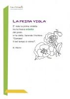 Poesia di primavera - La prima viola