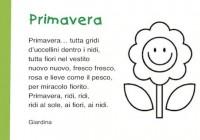 Poesie Sulla Primavera Per Bambini Scuola Primaria E Dell Infanzia