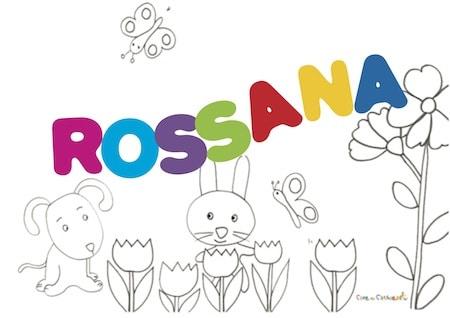 Rossana: significato e onomastico