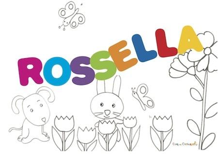 Rossella: significato e onomastico