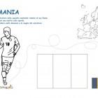 Maglia della Romania da colorare