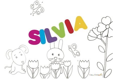 Silvia: significato e onomastico
