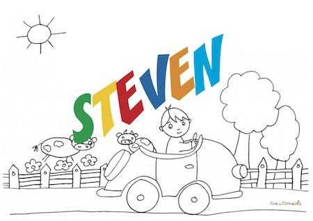 Steven: significato e onomastico