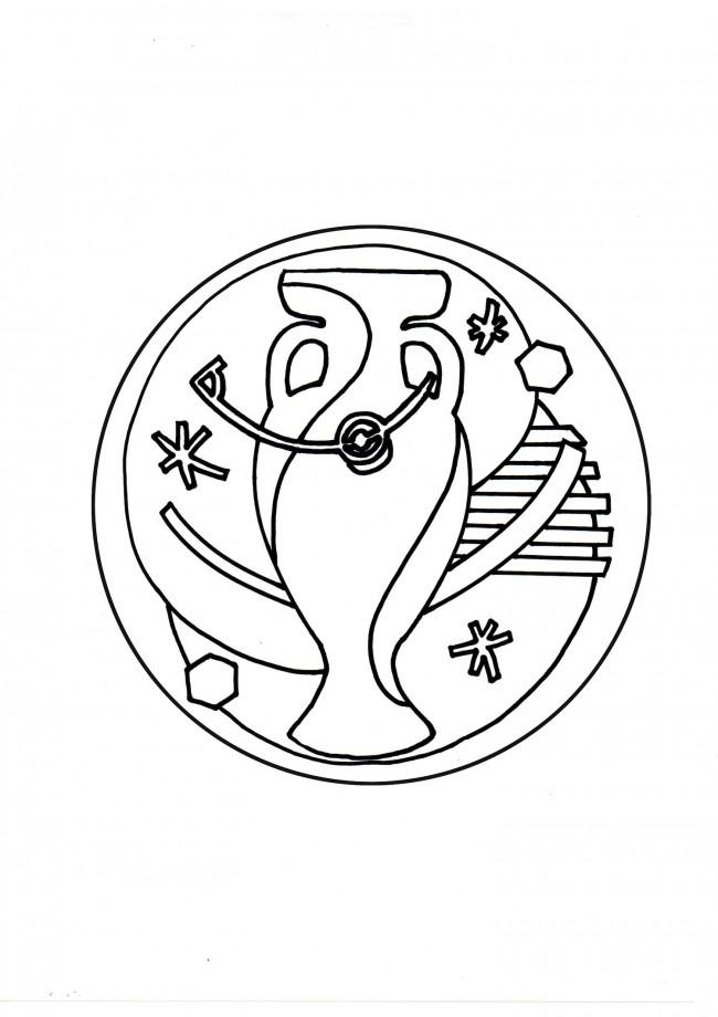 disegni da colorare calcio balilla
