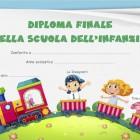 Diploma di fine Scuola dell'Infanzia